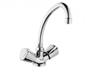 LVS010 Swan Double Handle Kitchen Lavatory Faucet