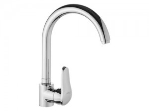 LVS042 Swan Single Handle Kitchen Mixer faucet