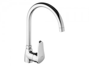 LVS043 Swan Single Handle Kitchen Mixer faucet