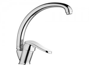 LVS044 Swan Single Handle Kitchen Mixer faucet