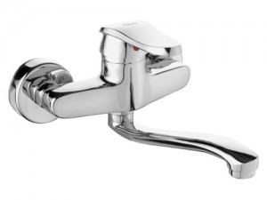 LVS048 Single Handle Wall Mounted Kitchen Mixer faucet