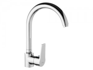 LVS081 Mix Kuğu Evye Bataryası - Swan Single Handle Kitchen Mixer faucet