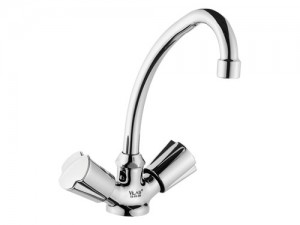 VS010 Swan Double Handle Kitchen Lavatory Faucet